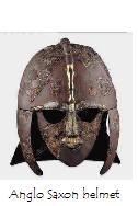 artifact--a helmet from the ancient Anglo Saxons