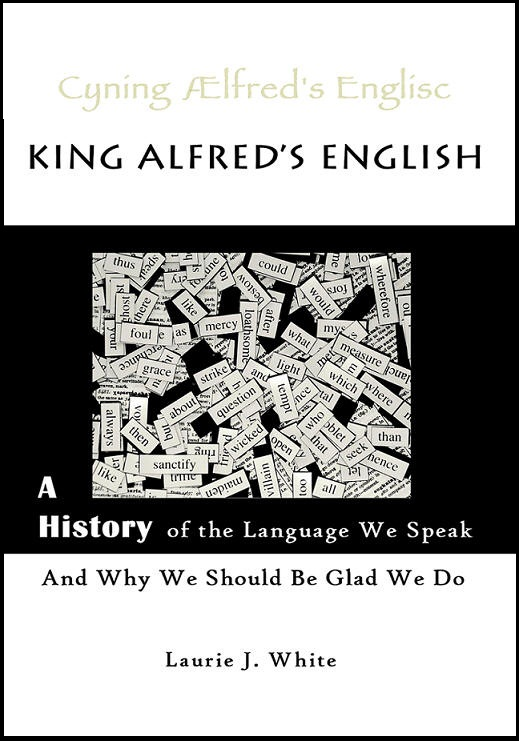 Book cover for King Alfred's English
