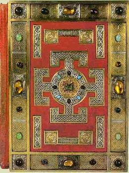 Lindesfarne Gospel's front cover