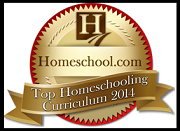 AWARD SEAL-top homeschooling curriculum 2014