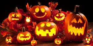 Jack o'lanterns symbolize Halloween