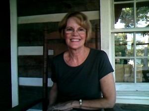 Author Laurie J. White at home