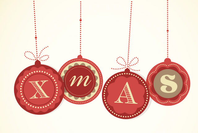 Merry x mas the history behind the x theshorterword christmas ornaments that spell x mas voltagebd Gallery
